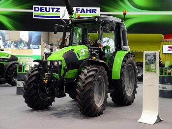 DEUTZ-FAHR představil upravenou verzi traktoru 5120 C schopnou provozu na zemní plyn