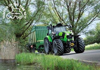 Traktor roku 2017: DEUTZ-FAHR 6215 RCshift získal ocenění za nejlepší design!