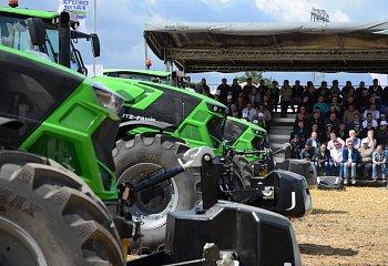 DEUTZ-FAHR prezentoval novou generaci traktorů řad 6 a 7 a představil novou DEUTZ-FAHR arénu